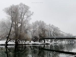 Podul Intelectualilor iarna