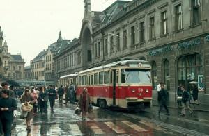 Cu tramvaiul pe corso 73 Oradea