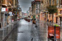 O zi ploioasa pe corso