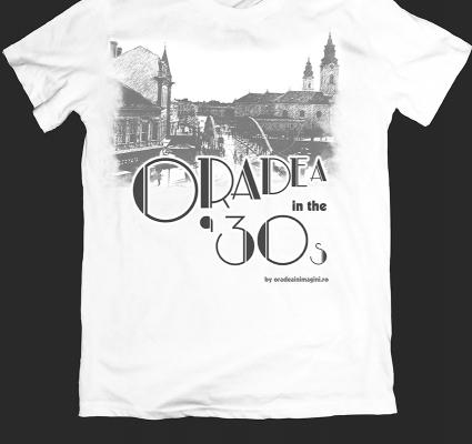 Tricou Oradea in the 30s Vechiul Pod din centrul orasului