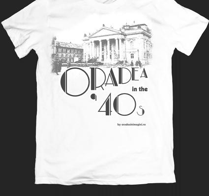 Tricou Oradea in the 40s teatrul