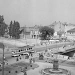 Podul din Centru anul 1960