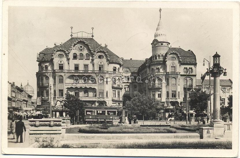 Palatul Vulturul Negru in perioada interbelica