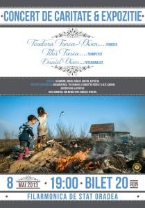 Concert caritabil si expozitie foto la Filarmonica de Stat @ Oradea, Bihor