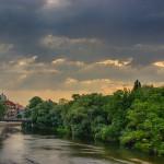 Crisul Repede, de pe Podul Dacia
