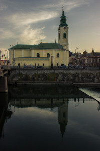 Biserica Sf Ladislau reflec