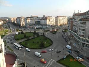 Foto by Attila Kabai- Intersectia Bulevardul Decebal cu Bulevardul Dacia