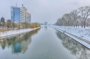 Crisul Repede, iarna, Fotograf: Dan Dragos