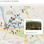 Harta turistica a orasului Oradea