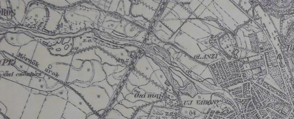 Harta Oradiei 1887