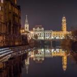 Primaria Oradea si Biserica Sf Ladislau