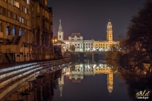 Primaria Oradea si Biserica Sf Ladislau, Foto by Marin Ghita