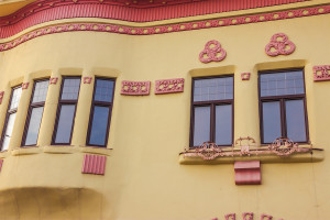 Casa Vago detaliu geamuri