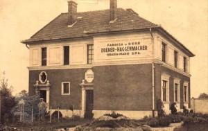 Clădire a fabricii de bere – perioada interbelică