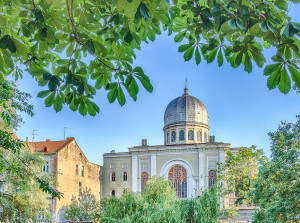 Sinagoga Neologica Sion coperta