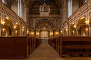 Sinagoga Zion interior