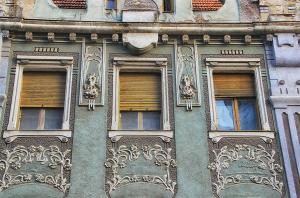 Palatul Moskovits detaliu