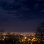 Oradea privită de pe deal