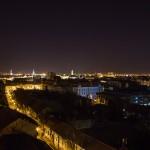 Oradea noaptea privita de sus