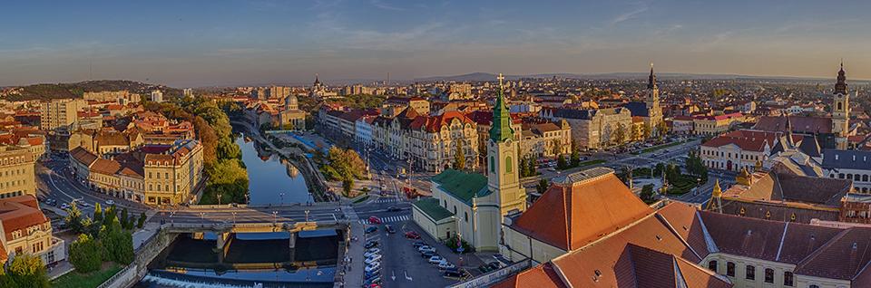 Vedere-panoramica-din-Turnul-Primariei-Oradea