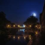 Luna albastră deasupra Crișului
