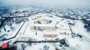 Cetatea iarna