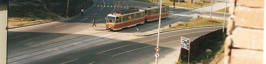 Bulevardul Decebal in 1986
