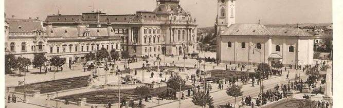 Azi Piata Unirii, Piata Sfantu Ladislau in anul 1943