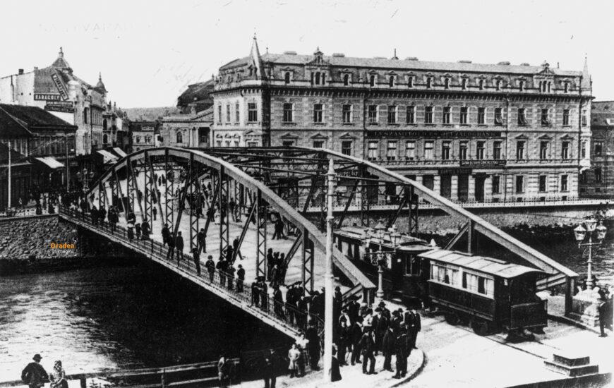 Vechiul pod din centrul orașului