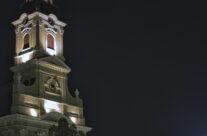 Biserica cu Luna, seara