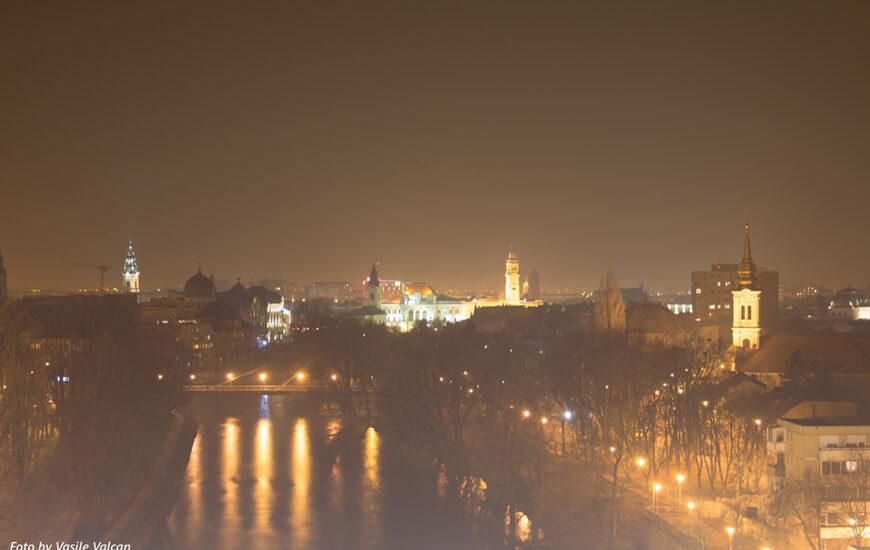 Centrul orașului seara