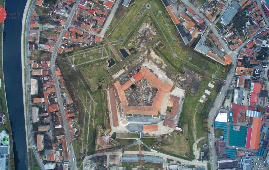 Cetatea Oradea in santier