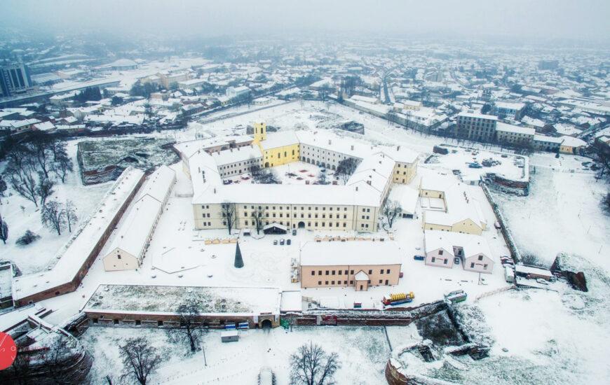 Cetatea Oradea, iarna