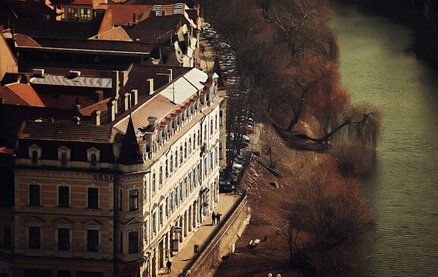 Palatul Levay, de sus
