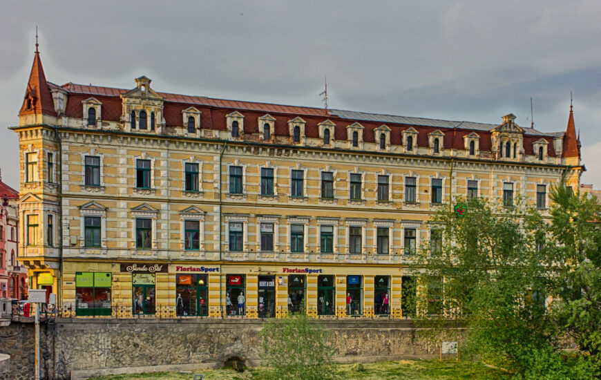 De vizitat: Palatul Levay, de la clasicism spre eclectism