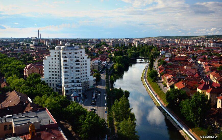 Panorama Oradea din Turnul Primariei #1