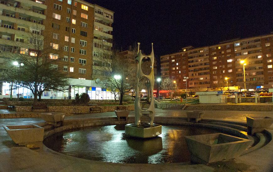 Parcul Magnoliei, seara
