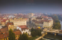 Piața Ferdinand vedere din Turnul Primăriei