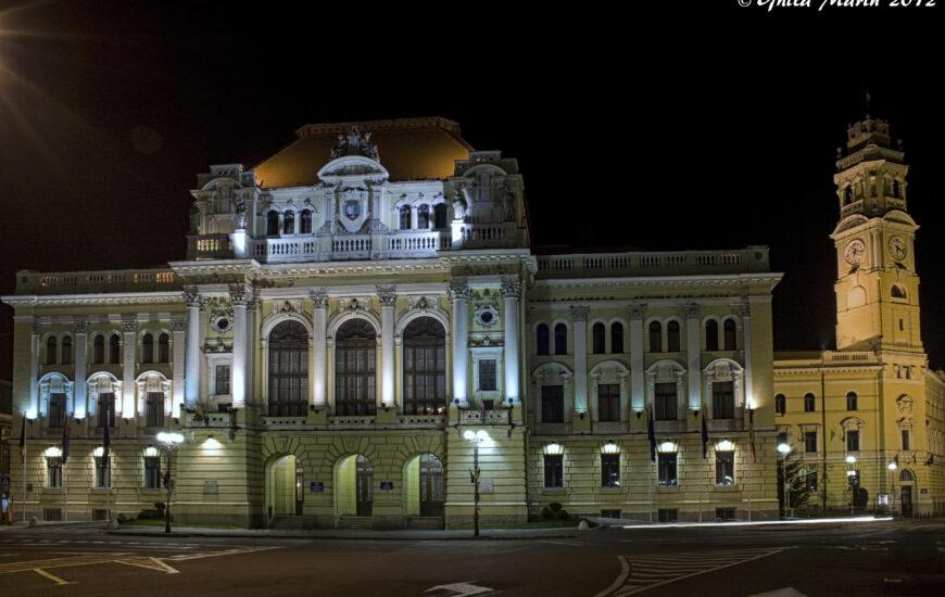 Primaria Oradea, seara