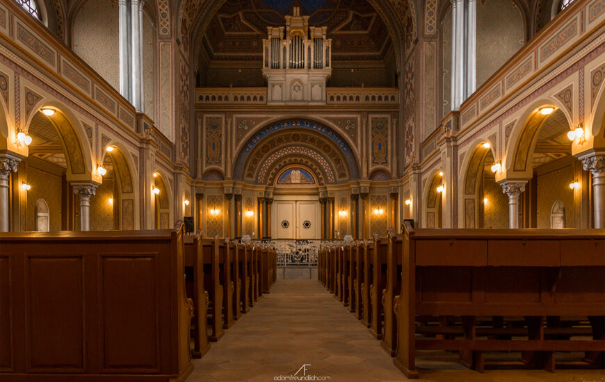 De vizitat: Sinagoga Neologa Zion – A treia ca mărime din Europa