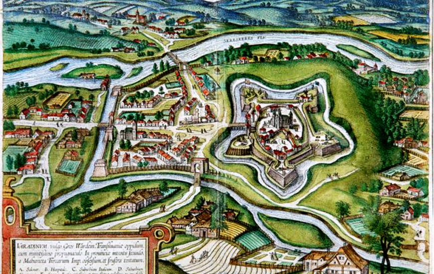 Cetatea din Oradea și legendele ei