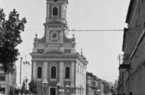 Biserica cu luna in anul 1980