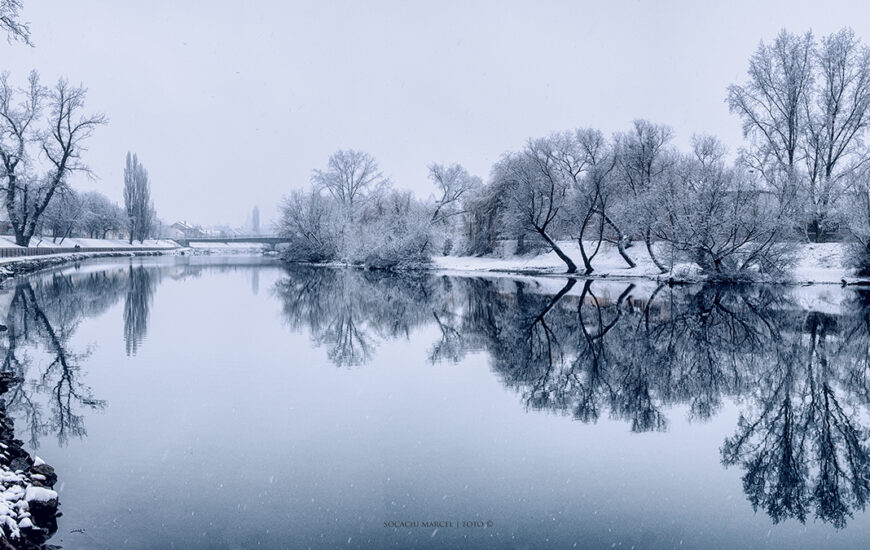Crișul Repede, iarna