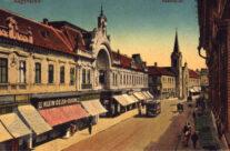 Strada Republicii, anii 1900