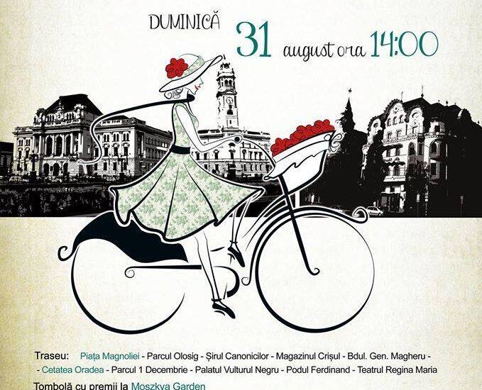 Skirtbike Oradea – pedaland prin centrul vechi al Oradei